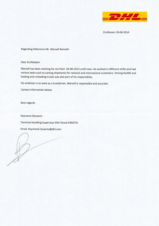 marcell_nemeth_reference_letter_netherlands_dhl_with_logo_en